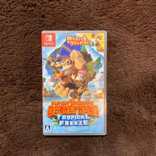Nintendo Switch - ドンキーコング トロピカルフリーズ スイッチ