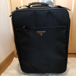 プラダ(PRADA)のプラダ キャリーケース 機内持ち込みサイズ訳あり品(トラベルバッグ/スーツケース)