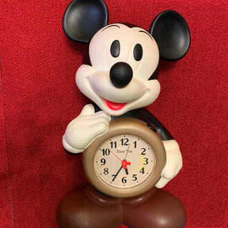 Disney - 目覚まし時計 ミッキーマウス BIG 40センチ
