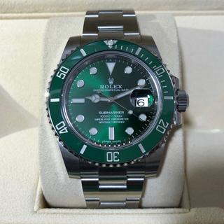 ロレックス(ROLEX)のブルー78様専用 ROLEX ロレックス サブマリーナデイト 116610LV(腕時計(アナログ))
