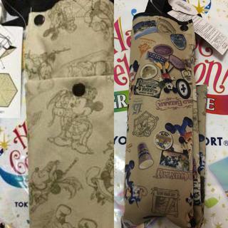 ディズニー(Disney)のSALE♡35周年♡折りたたみ傘2種類セット(傘)