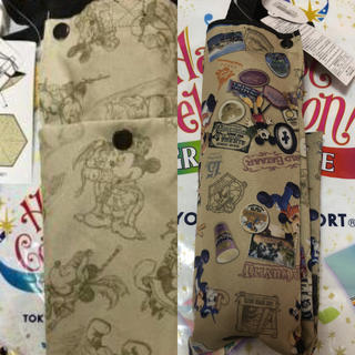 Disney - SALE♡35周年♡折りたたみ傘2種類セット