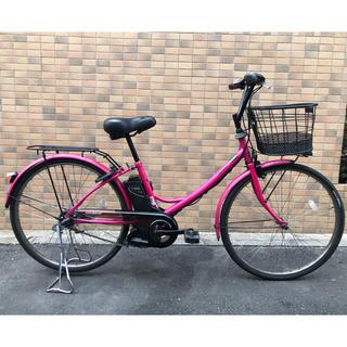 Panasonic - 2012モデル良品ピンクの可愛い電動自転車パナソニックA-girls26型3速