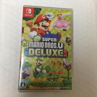ニンテンドースイッチ(Nintendo Switch)のマリオデラックス Switch 新品未開封 エアパッキン封筒発送(家庭用ゲームソフト)