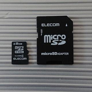 エレコム(ELECOM)のくみくみ様専用 microSDカード 8GB(その他)