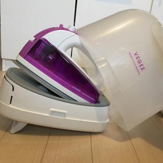 日立 - 【収納に便利】HITACHI アイロン コンパクト 紫 収納式で便利です!