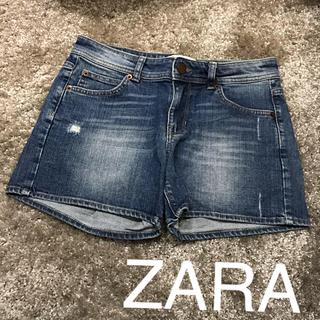 ザラ(ZARA)のZARA デニムショートパンツ(ショートパンツ)