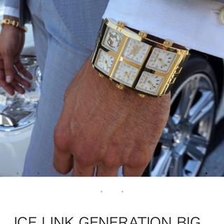 アヴァランチ(AVALANCHE)のICE LINK アイスリンク GENERATION BIG CASE(腕時計(アナログ))