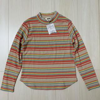 ブランシェス(Branshes)のbranshes マルチボーダーカットソー 130cm(Tシャツ/カットソー)