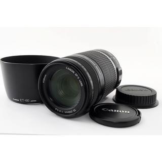 キヤノン(Canon)の❤️手振れ補正搭載望遠レンズ❤️キャノン EF-S 55-250mm IS(レンズ(ズーム))