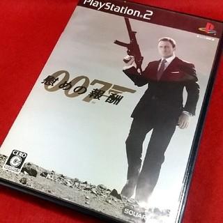 プレイステーション2(PlayStation2)のPS2 007 慰めの報酬(家庭用ゲームソフト)