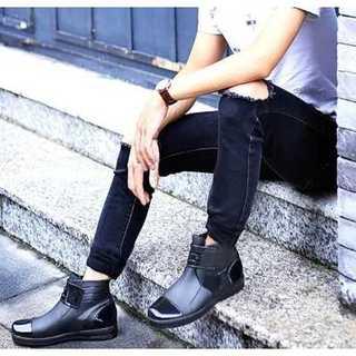 【送無】長靴 メンズ レイン ブーツ シューズ 靴 男性用 黒 26.5cm(長靴/レインシューズ)
