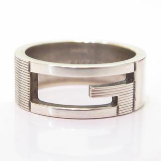 グッチ(Gucci)のグッチ シルバーリング 15号 指輪 GUCCI 18593975(リング(指輪))