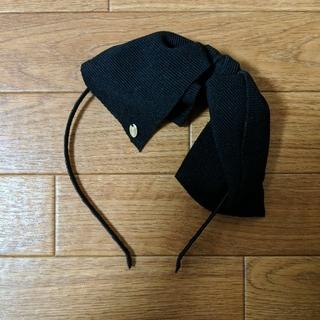 snidel - snidel リボンカチューシャ(ブラック)