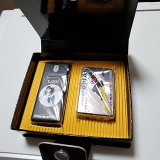 ジッポー(ZIPPO)のエイトマンジッポー携帯灰皿付き(タバコグッズ)