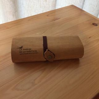 木製 メガネケース(小物入れ)