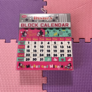 Disney - ミッキー&ミニーブロックカレンダー