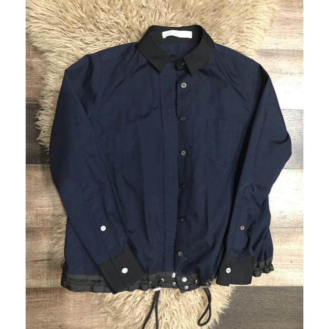 sacai luck(サカイラック)のsacai luckネイビープルオーバー レディースのジャケット/アウター(その他)の商品写真