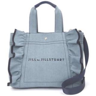 JILL by JILLSTUART - ジルバイジルスチュアート♡フリルキャンバストートバッグ
