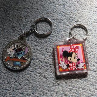 ディズニー(Disney)のDisney ディズニーのキーホルダー 2つ(その他)