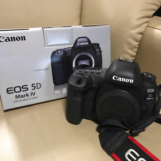Canon - EOS 5D mark4 ボディのみ 美品 2月18日まで!