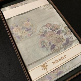 ⭐︎花柄紋様袋帯⭐︎ 仕立上り(帯)
