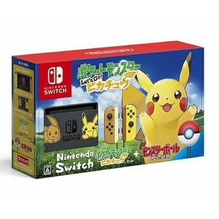 ニンテンドースイッチ(Nintendo Switch)のNintendo Switch ポケモン Let's Go!ピカチュウ イーブイ(家庭用ゲーム本体)