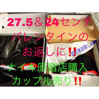 ナイキ(NIKE)のジョーダン6  新品未使用 セット 27.5センチ 24センチ(スニーカー)