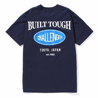 ネイバーフッド(NEIGHBORHOOD)の新品未使用 チャレンジャー challenger tシャツ ネイビー m(Tシャツ/カットソー(半袖/袖なし))
