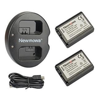 【新品★人気】NP-FW50互換バッテリー 2個 + 充電器セット(その他)