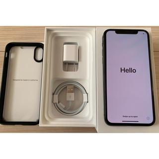 iPhone - 【超美品・中古】iPhone X 256GB simフリー スペースグレイ