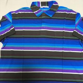 エレクトリックコテージ(ELECTRIC COTTAGE)のエレクトリックコテージ ボーダーポロ(ポロシャツ)