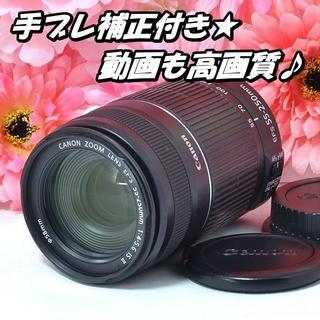 キヤノン(Canon)の★高画質&手ブレ補正★キャノン EF-S 55-250mm IS (レンズ(ズーム))