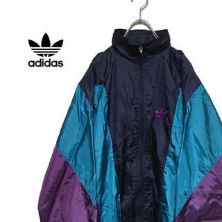 アディダス(adidas)のadidas アディダス 90s ナイロンジャケット ブルゾン(ナイロンジャケット)