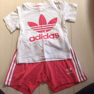 アディダス(adidas)のアディダス  セットアップ 80cm(Tシャツ)