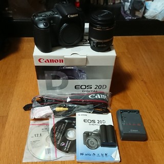 Canon - Canon EOS 20D EFS 18-55mm 1:3.5-5.6 IS