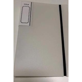 セリア 6穴リングファイル A5(ファイル/バインダー)