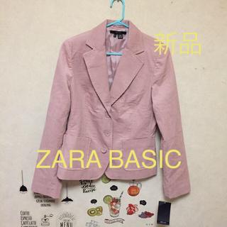 ザラ(ZARA)のZARA BASIC  ジャケット 新品(テーラードジャケット)