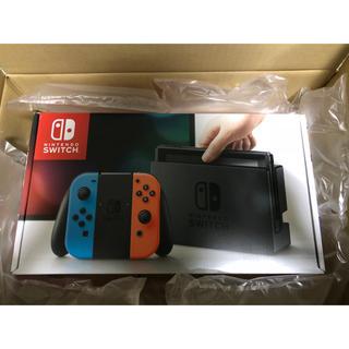 ニンテンドースイッチ(Nintendo Switch)のNintendo Switch Joy-Con ネオンブルー / ネオンレッド(家庭用ゲーム本体)