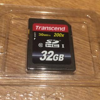 トランセンド(Transcend)のTranscend SDHCカード 32GB (PC周辺機器)