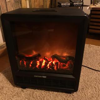 電気ファンヒーター 暖房器具 ファンヒーター  ユーパ 暖炉型ファンヒーター