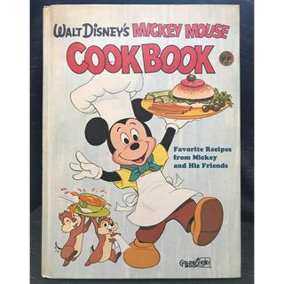 ミッキーマウス(ミッキーマウス)の【レシピ・古書・洋書】MICKEY MOUSE COOKBOOK【1975年】 (洋書)