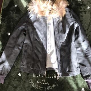 アルカリ(alcali)のジャケット ファー(ブルゾン)