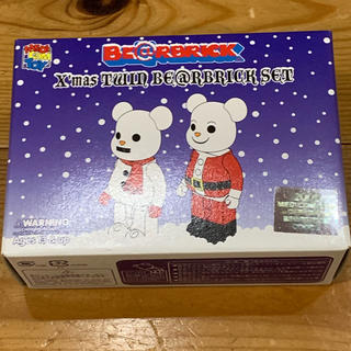 メディコムトイ(MEDICOM TOY)の値下:未開封 ベアブリック クリスマス 2002(ぬいぐるみ)