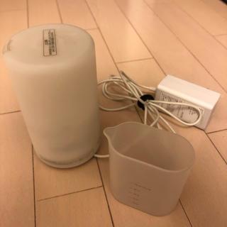 ムジルシリョウヒン(MUJI (無印良品))の超音波 アロマディフューザー 加湿器(加湿器/除湿機)