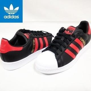 アディダス(adidas)の新品 アディダスオリジナルス スーパースター 黒 26.0cm スニーカー(スニーカー)