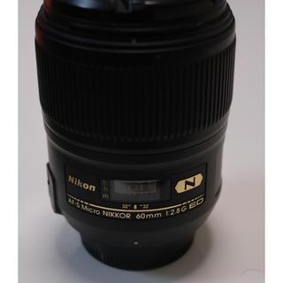 ニコン(Nikon)のNikon Micro 60mm f2.8(レンズ(単焦点))