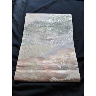 袋帯(絹/菊・有職文様)(帯)