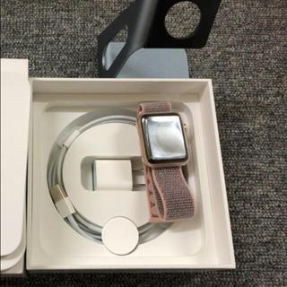 Apple Watch - 美品Apple Watch series3 42mm GPS+Cellular