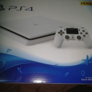 PlayStation4 - 早いもの勝ち!  500GB  グレイシャー・ホワイト PS4 本体